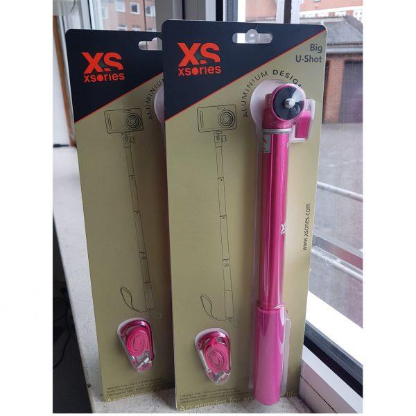 XSories Big U-Shot monochrome Pink 95cm